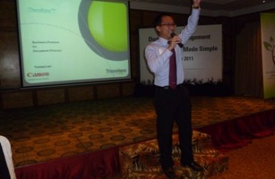 Docu Arch Document Management System Seminar Speaker